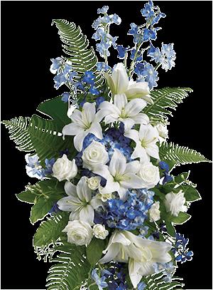image du bouquet de condoléances du centre