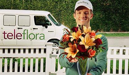 Le bouquet de Teleflora