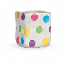 Telefloras Happy Dots Bouquet Teleflora - The-beautiful-dot-and-cube-collections